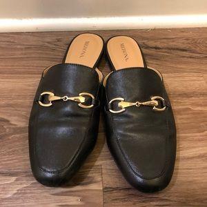Black Slides/Loafer Mules